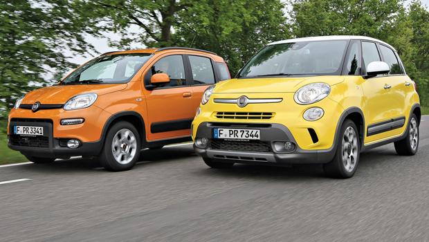 Fiat Panda e Fiat 500L: le più vendute nel 2016