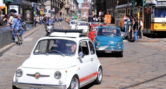 Fiat 500 compie 6o anni