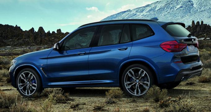 Presto la nuova BMW X3 sara disponibile a noleggio lungo termine