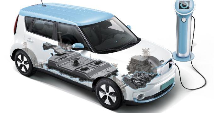 Auto elettrica in ricarica alla colonnina - Auto No Problem