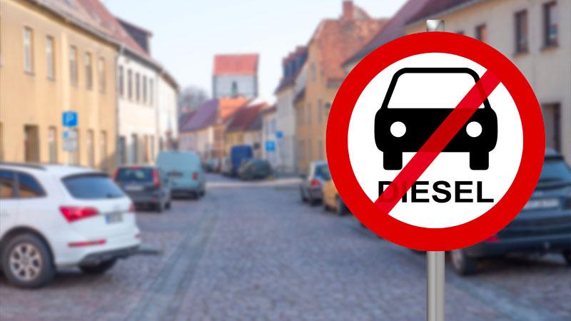 Blocco auto diesel euro 3 ed euro 4