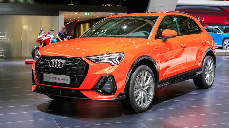 La nuova Audi Q3 presentata al Salone di Parigi 2018
