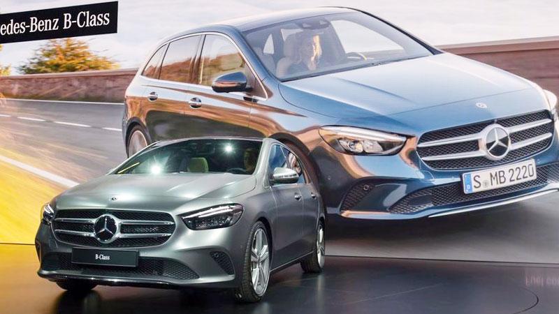 Nuova Mercedes Classe B - Salone di Parigi 2018