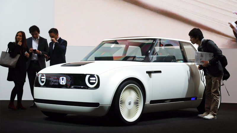 Nuova Honda Urban EV