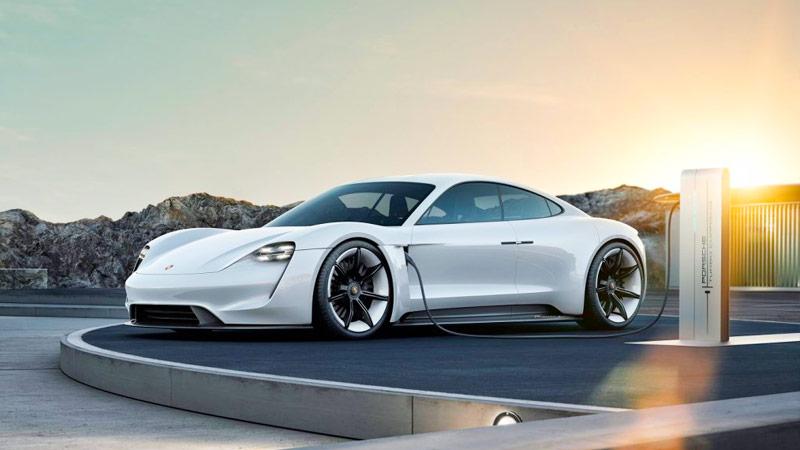 Porsche Taycan - Supercar Green