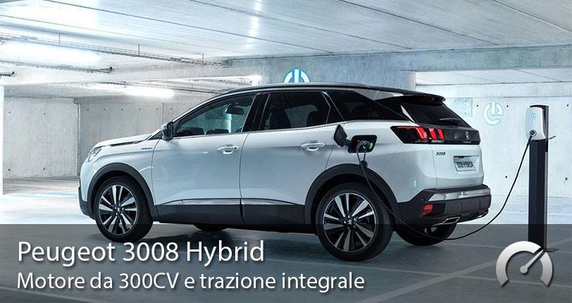 Peugeot 3008 Hybrid Noleggio Lungo Termine