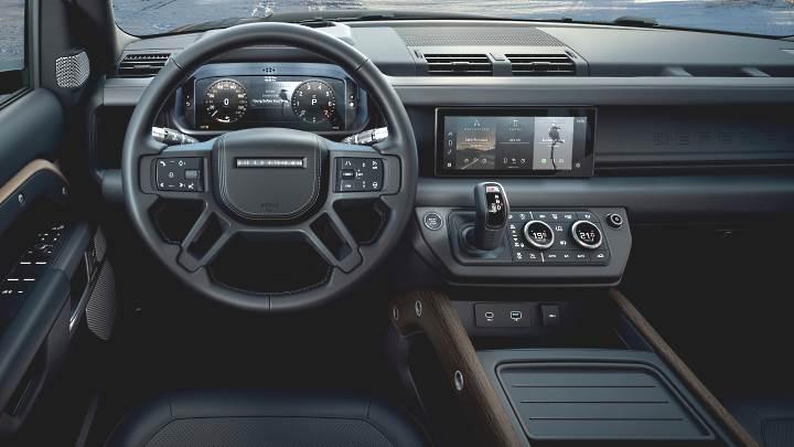 Interni nuova Land Rover Defender 2020